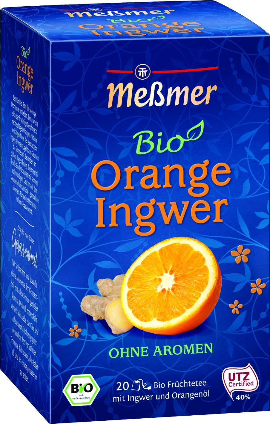 Bio Tee Orange Ingwer 20 St.