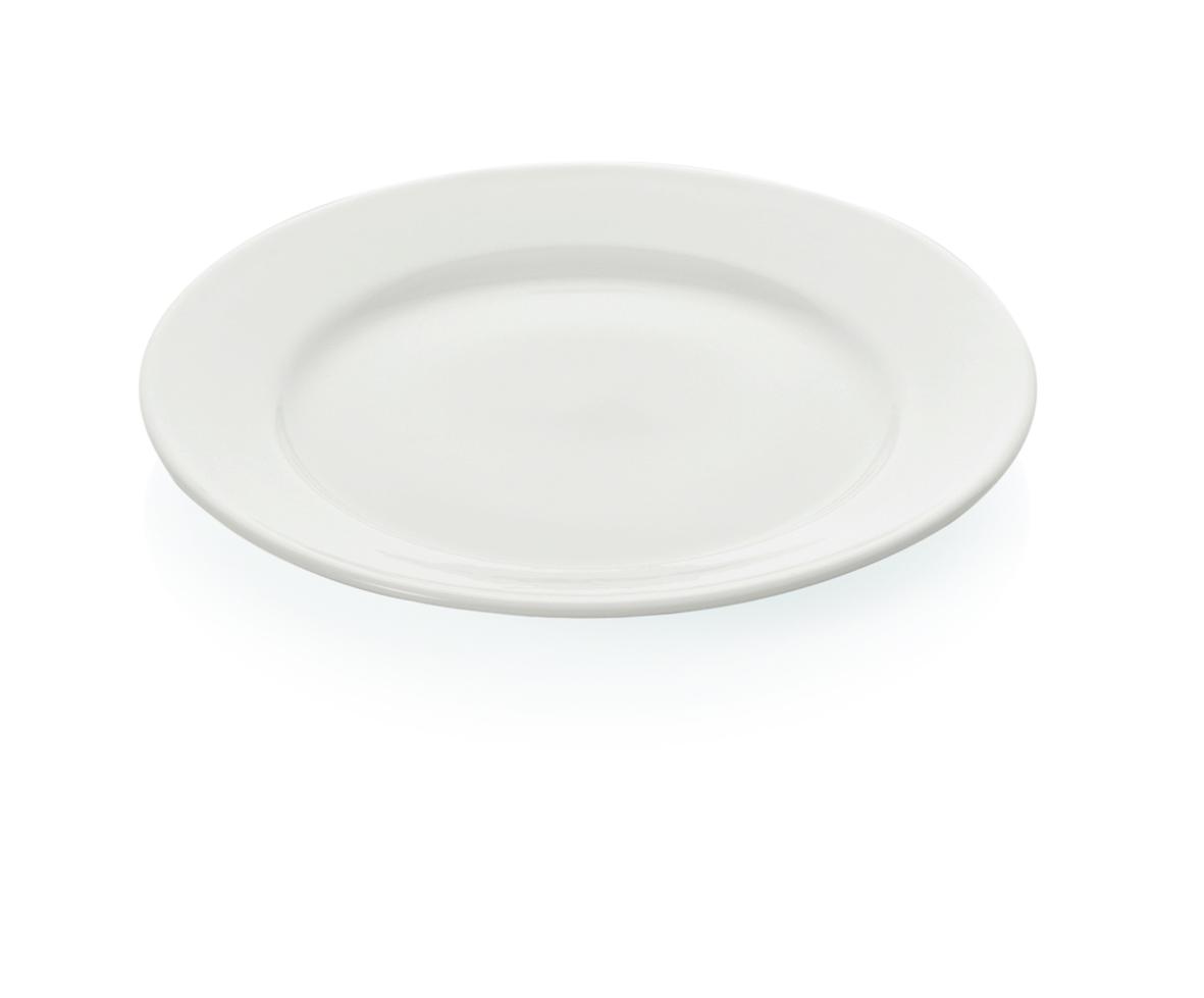 Teller aus Hartglas flach 17,5cm