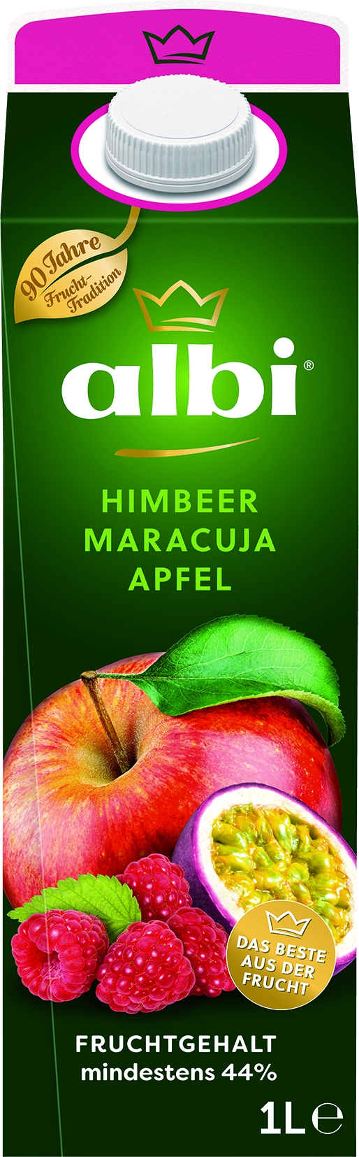 Himbeer-Maracuja Nektar