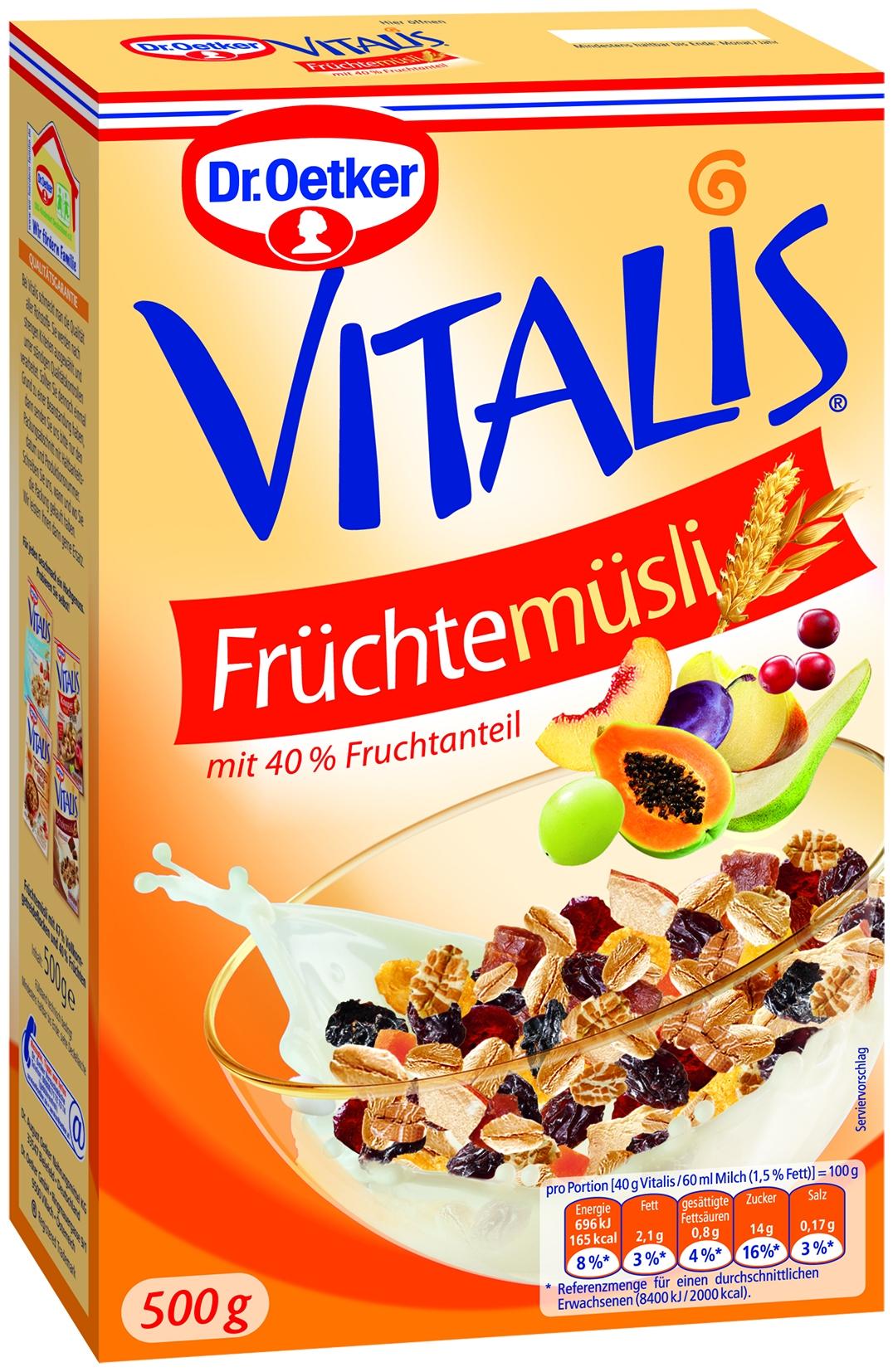 Vitalis Fruechte Muesli