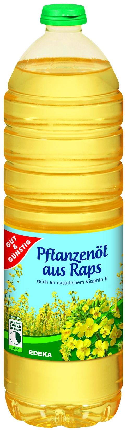 Pflanzenoel aus Raps