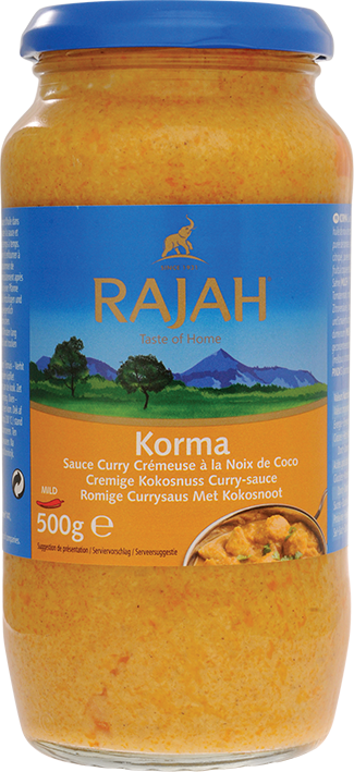 Korma Kokosnuss-Currysauce cremig, mild