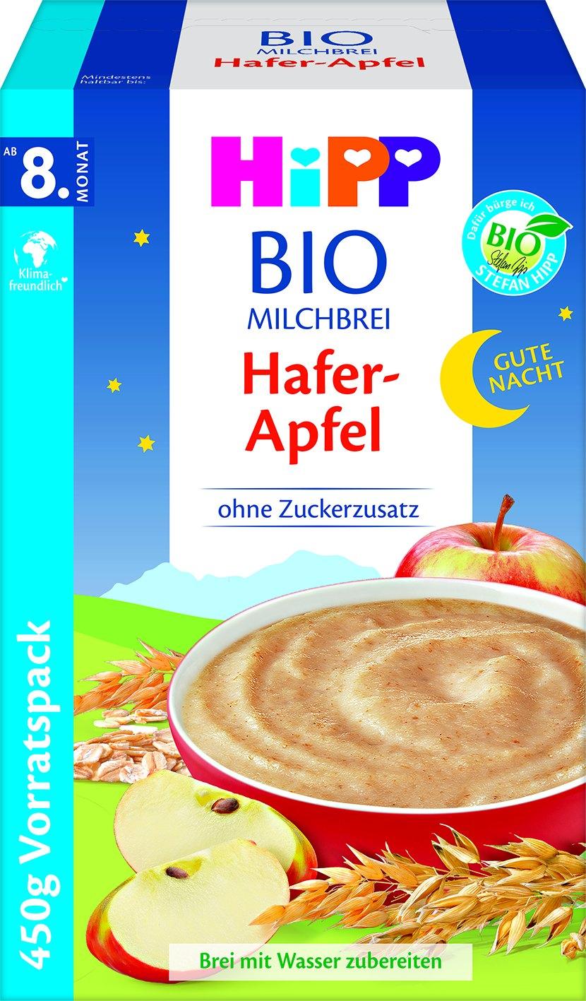 Bio Milchbrei Hafer/Apfel 30006
