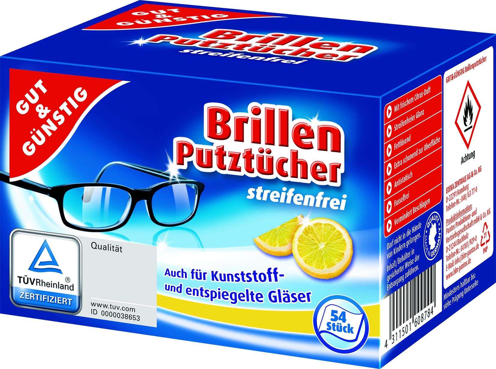 Brillenputztücher 54er