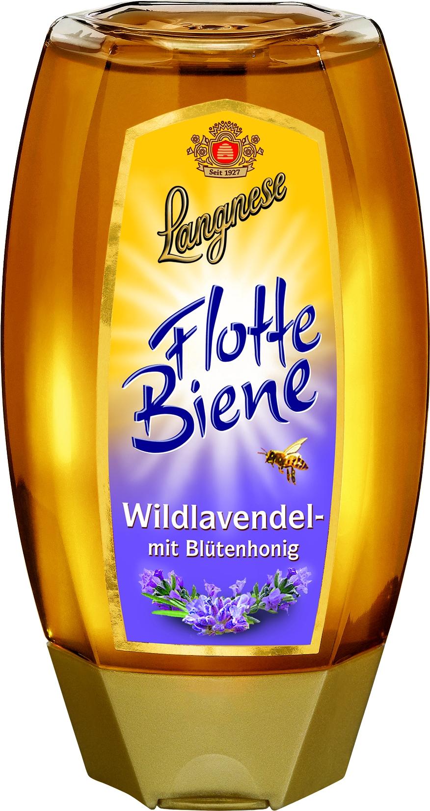 Flotte Biene Wildlavendel