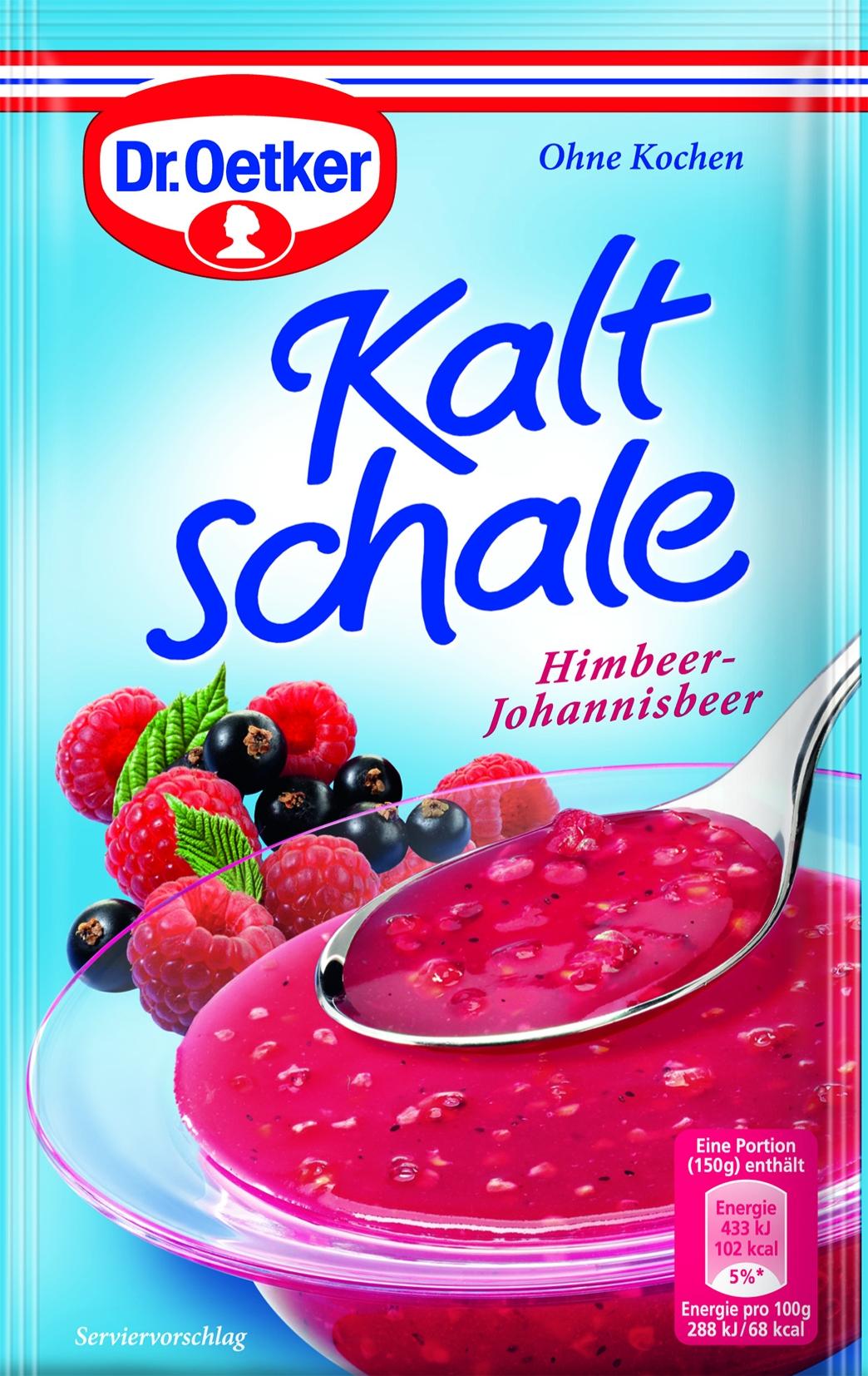 Kaltschale Himbeer/Johannisbeer