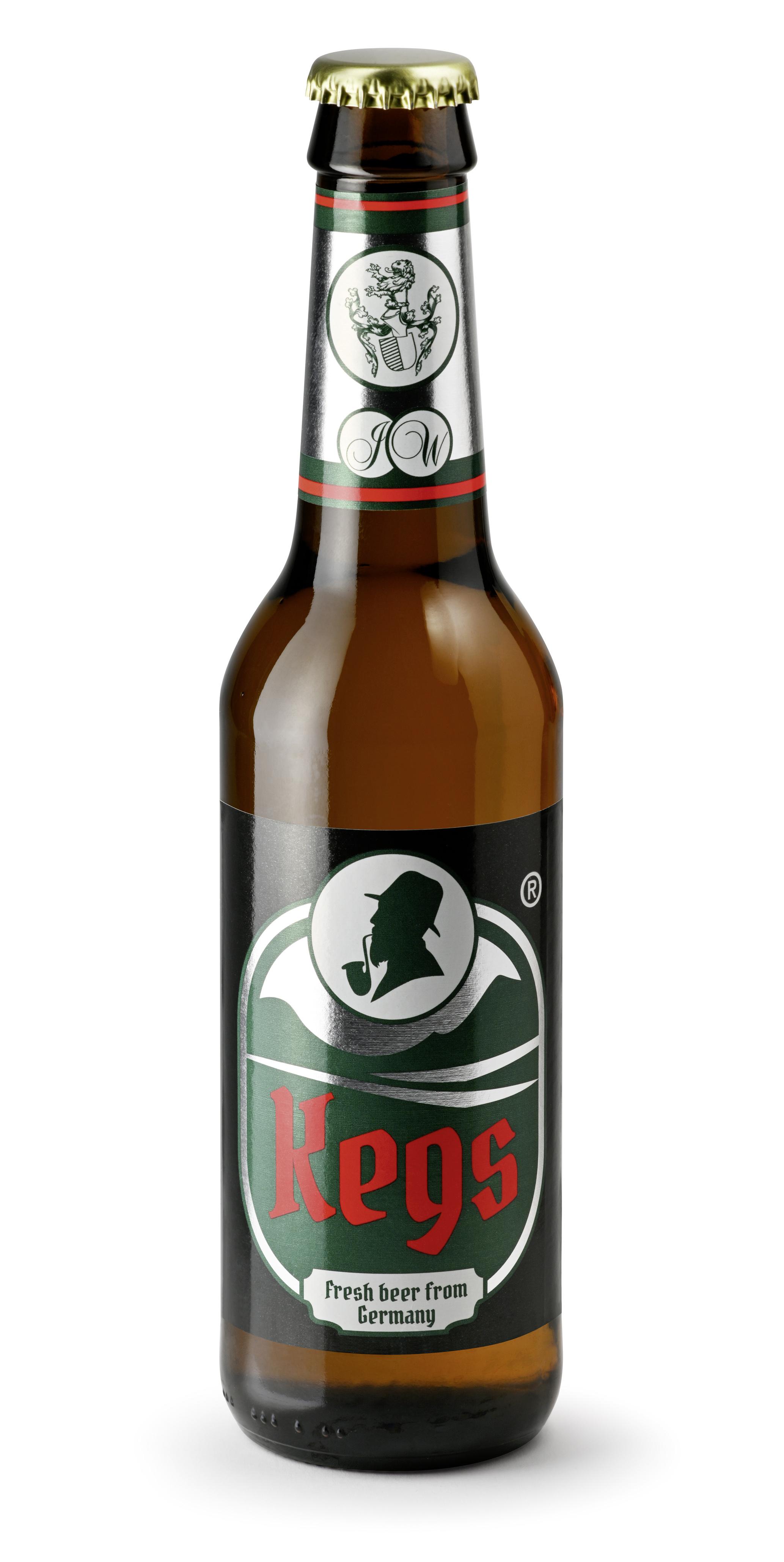 Kegs Bier 24 Fl x 0,33 ltr.