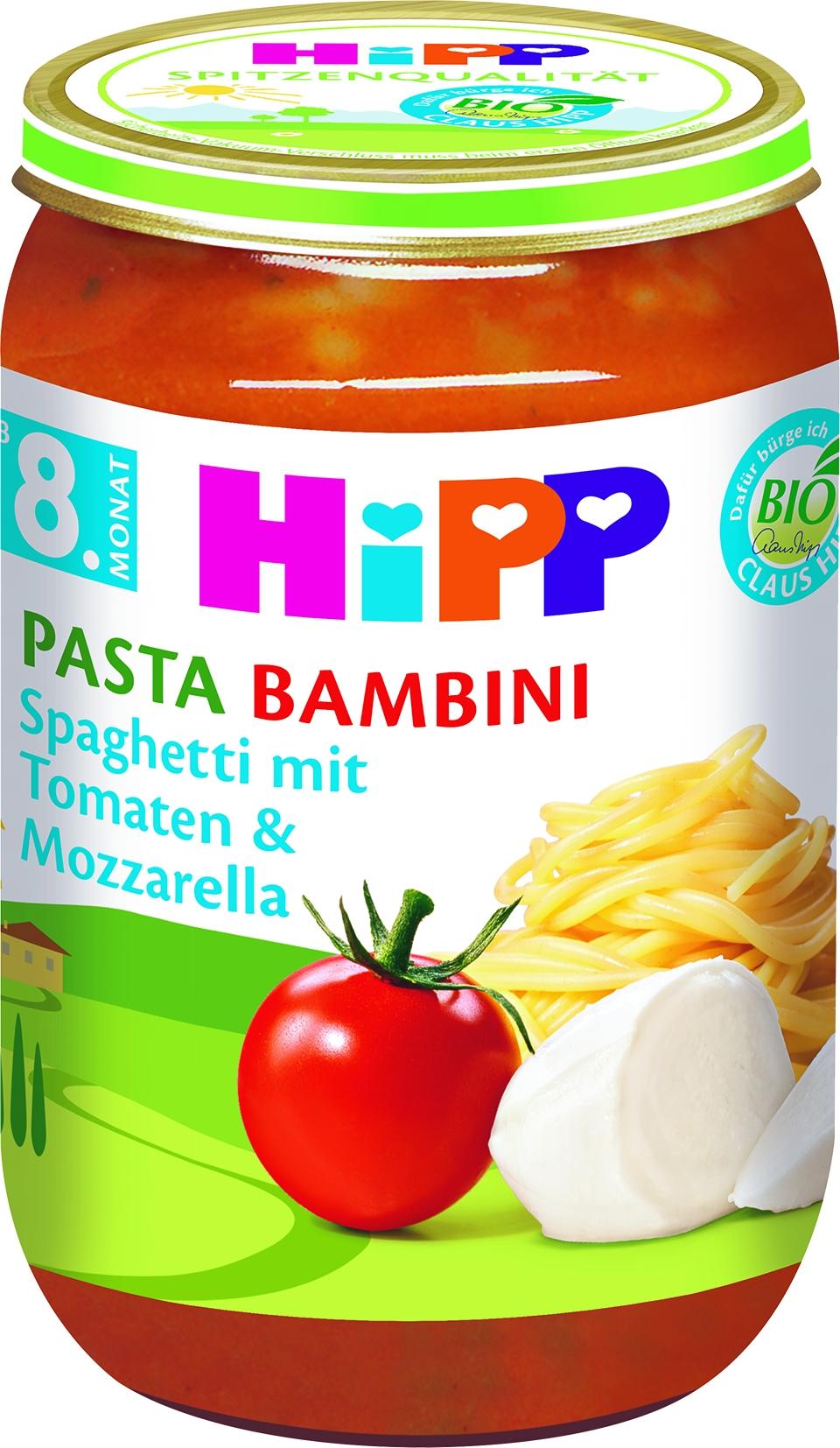Bio 6400-01 Spaghetti/Tomate/Mozzarella