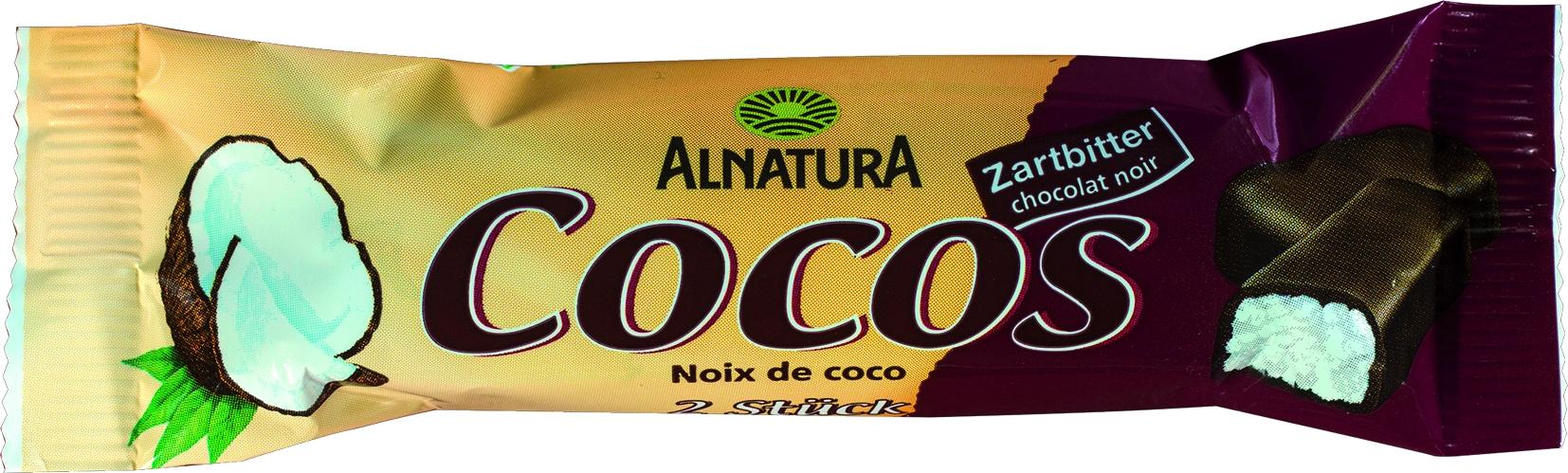 Riegel Cosos Zartbitterschokolade