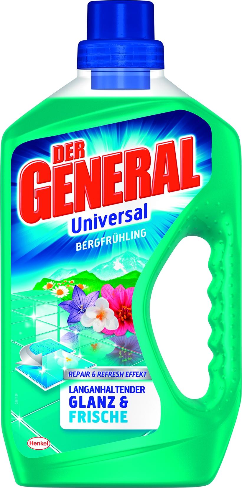 Der General Allzweckrein. Bergfruehling