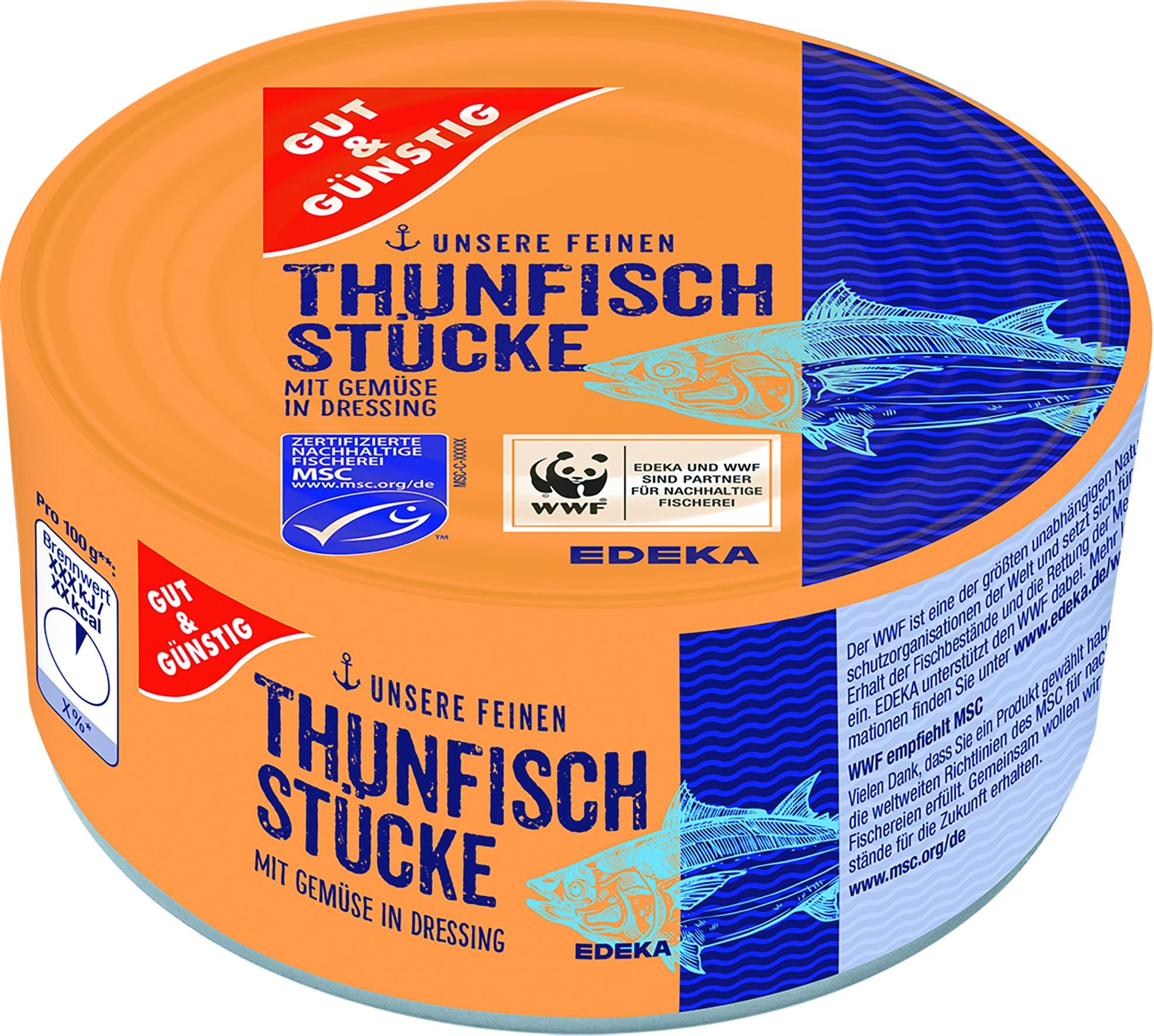 Thunfisch mit Gemuese