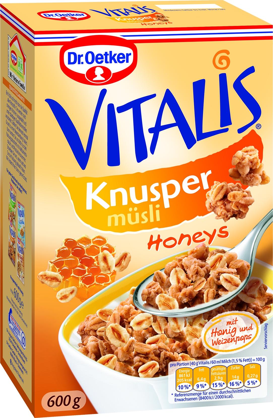 Vitalis Knusper Honeys Muesli