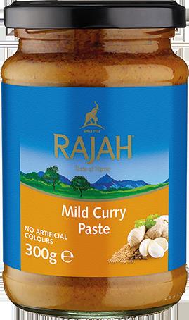 Currypaste, mild