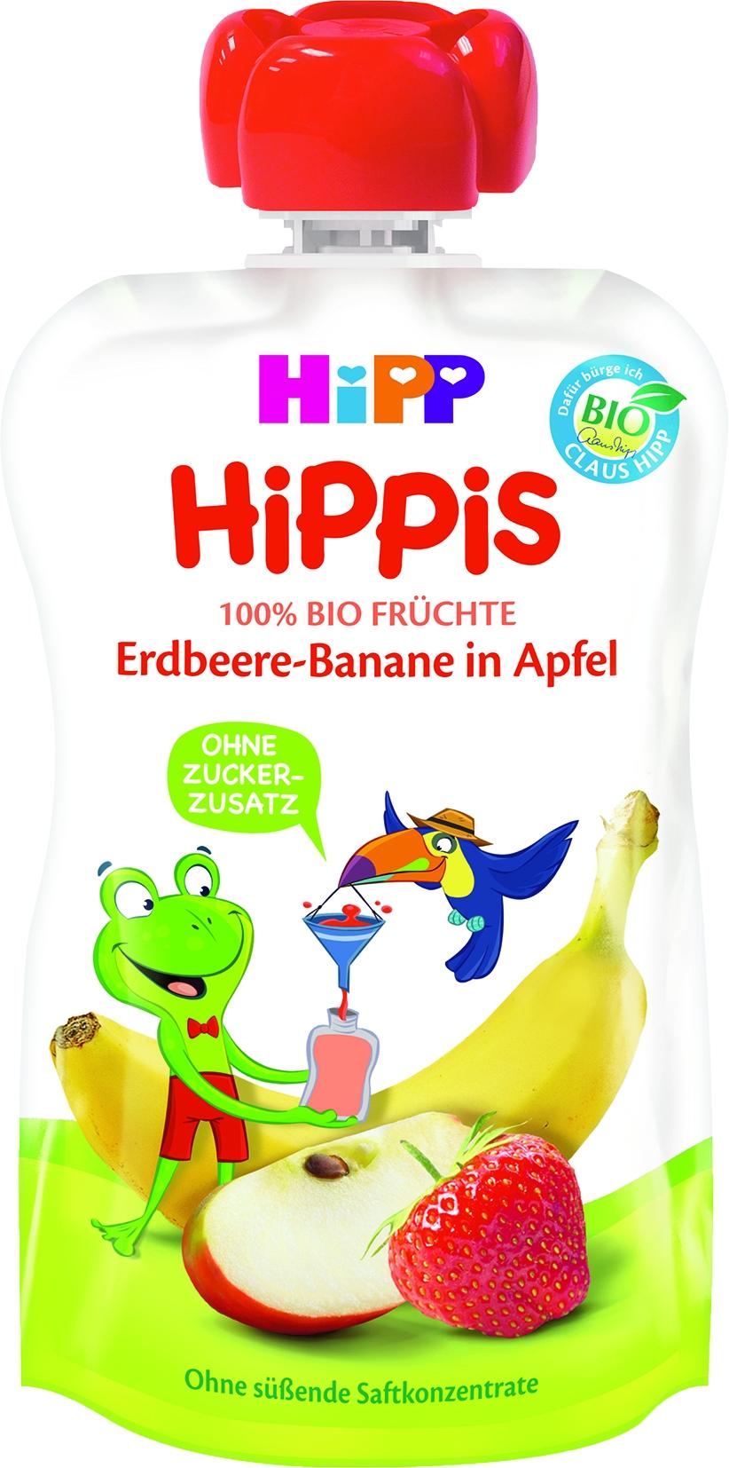 8521-01 Hippis Erdbeer/Banane/Apfel
