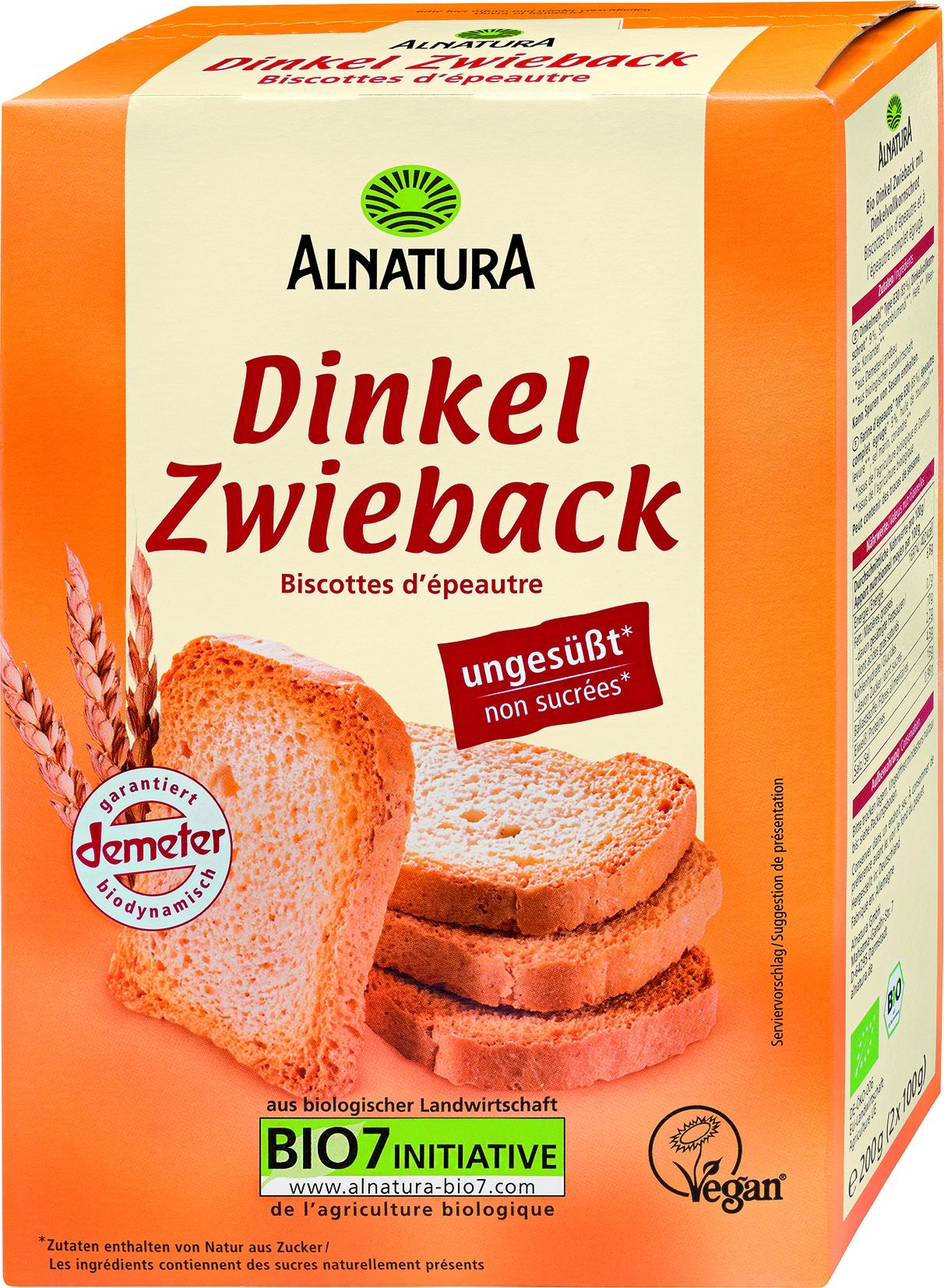 Dinkel Zwieback