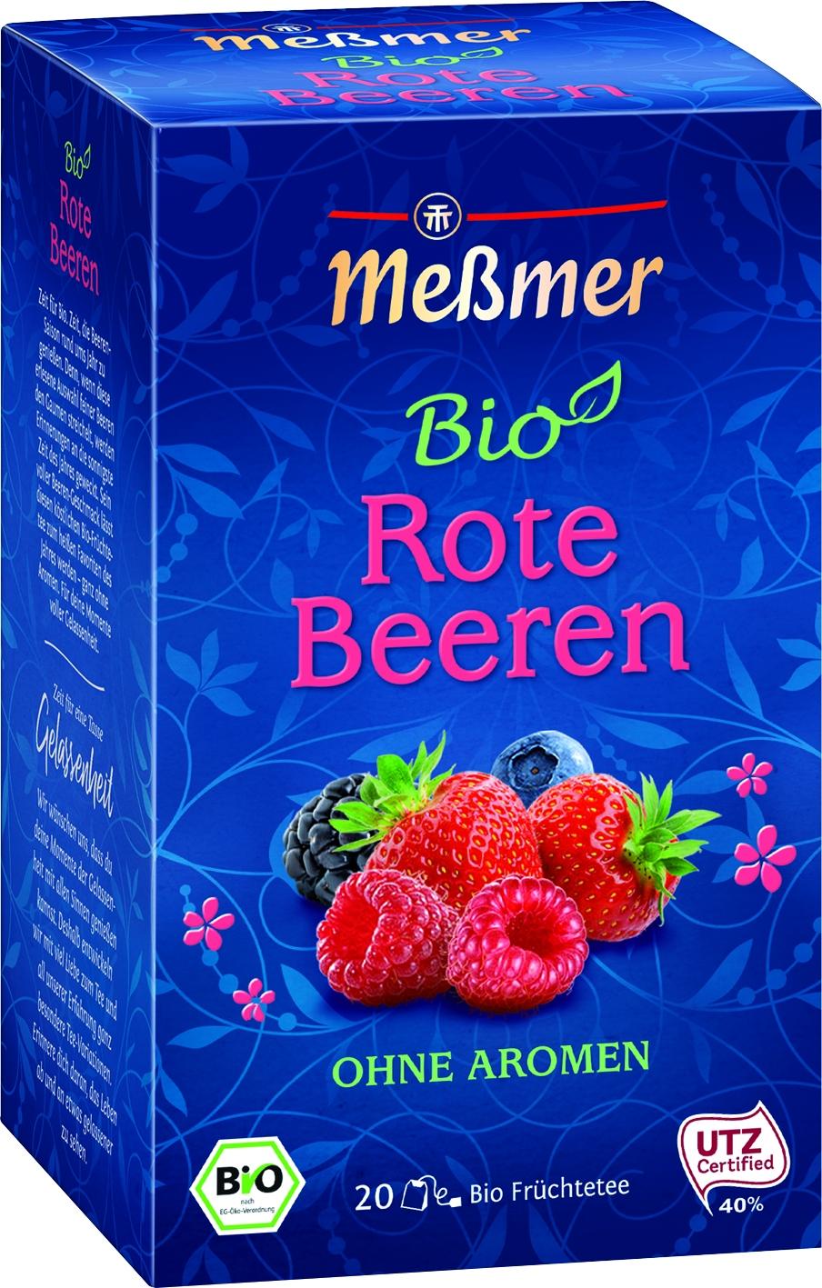 Bio Tee Rote Beeren 20 St.