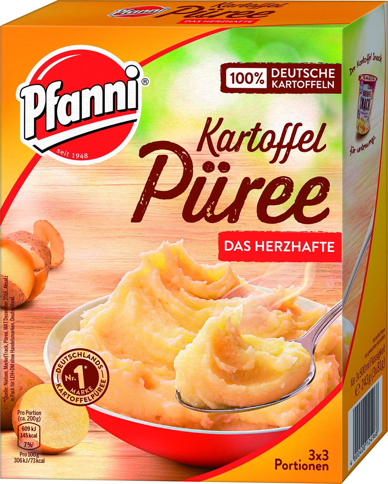 Kartoffel-Puree Kraeftig 3 x 3 Portionen
