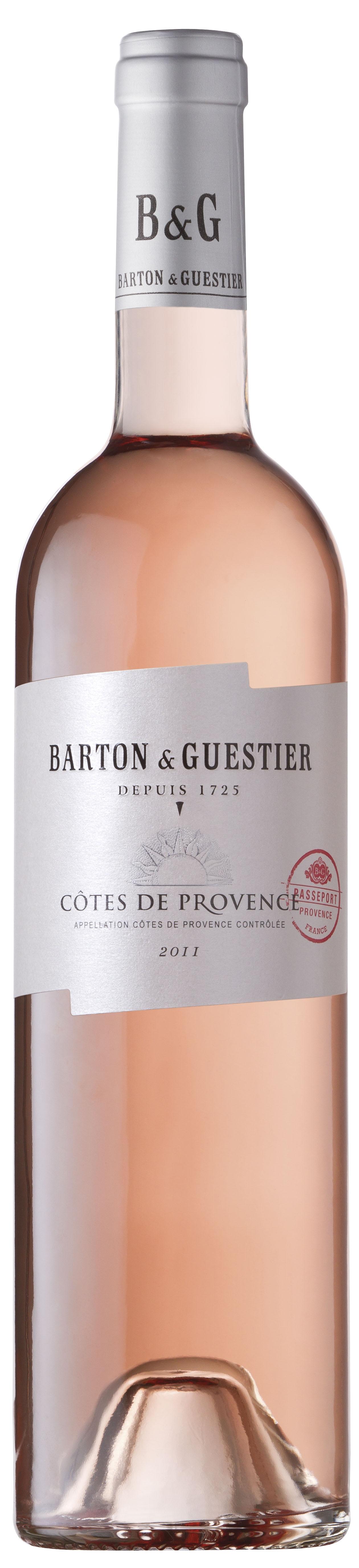 Barton & Guestier, Passeport, Côtes de Provence, AOC, trocken, rosé