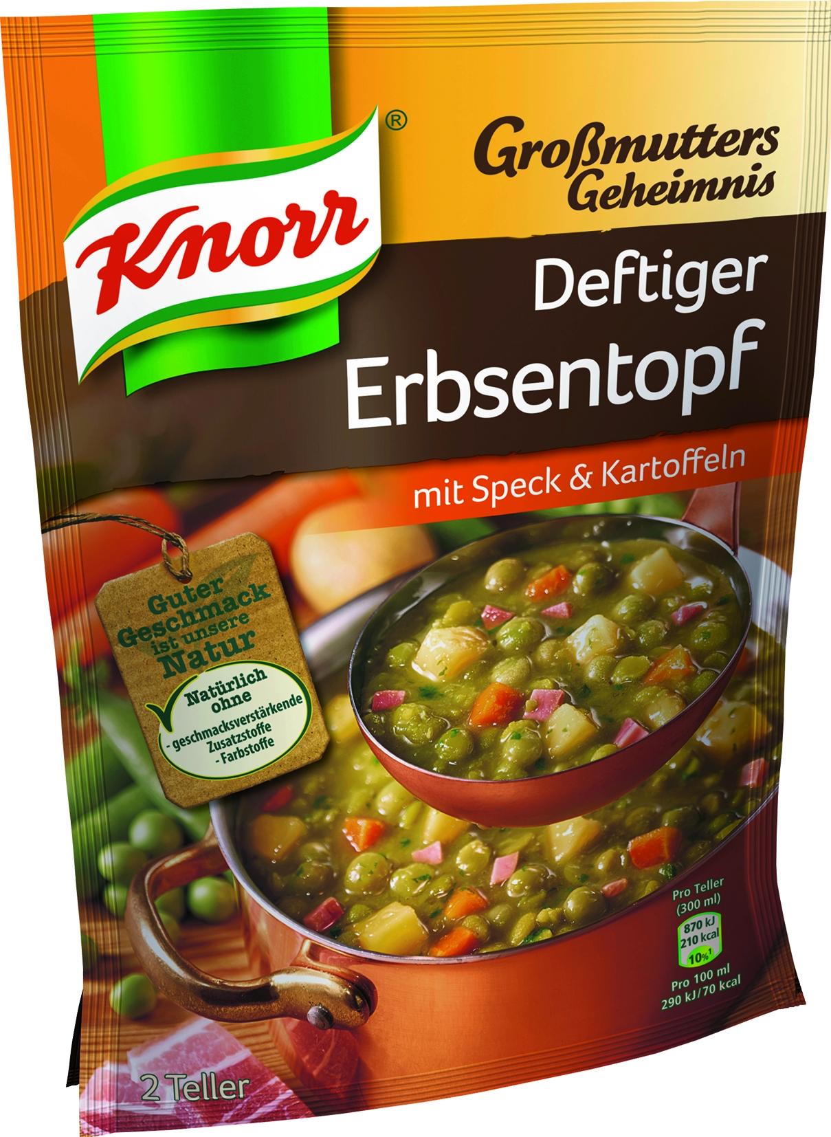 Erbsentopf 2 Teller