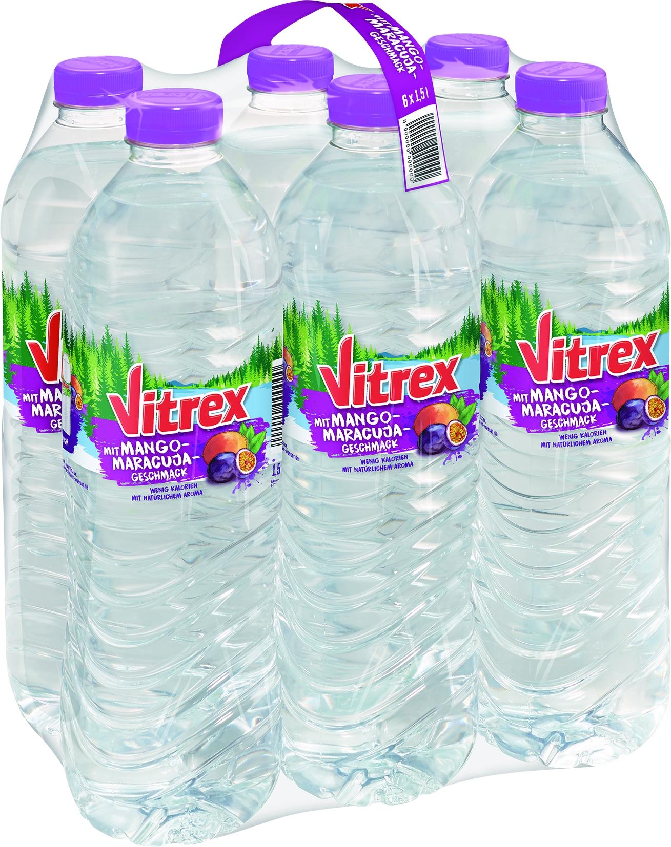 Mineralwasser mit Mango/Maracuja