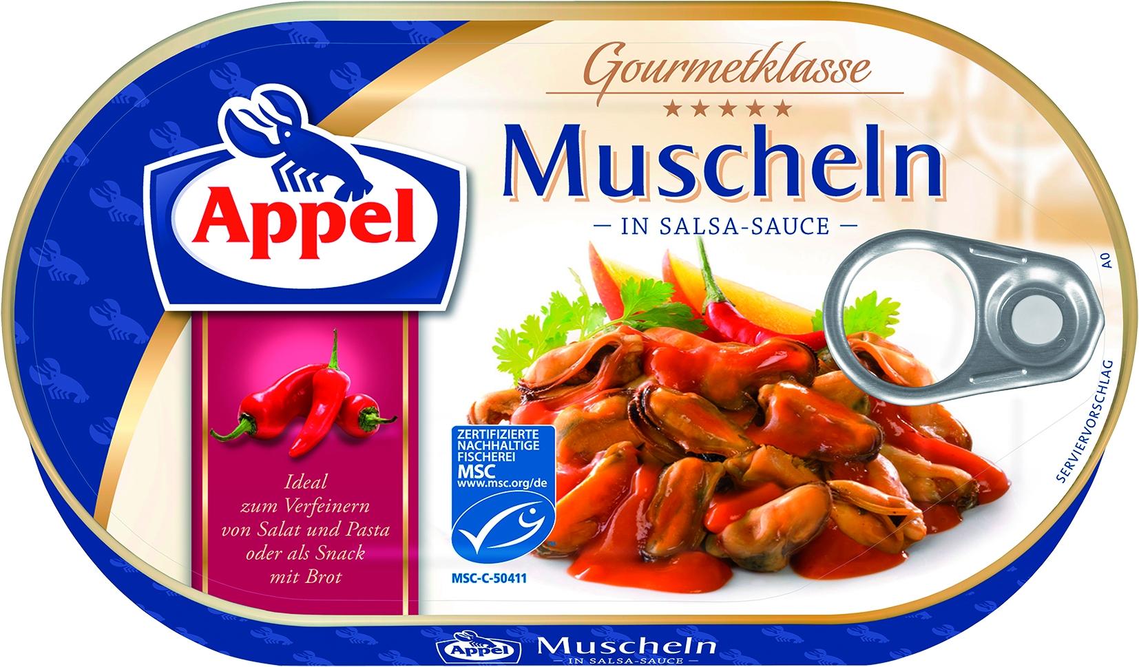 Muscheln in Salsasauce