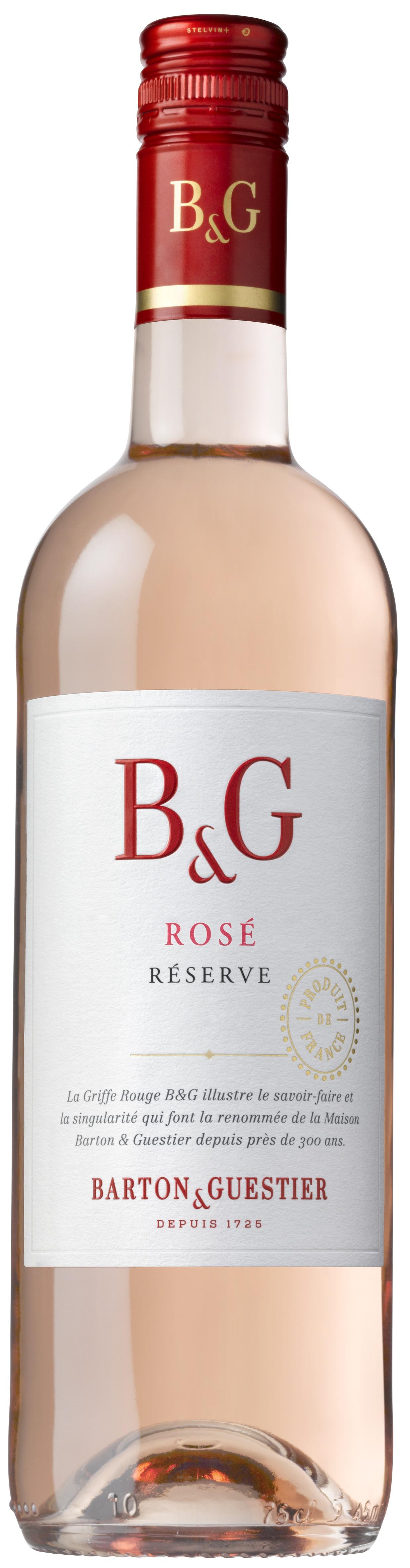 Barton & Guestier, Réserve, Shiraz, Languedoc, IGP, trocken, rosé