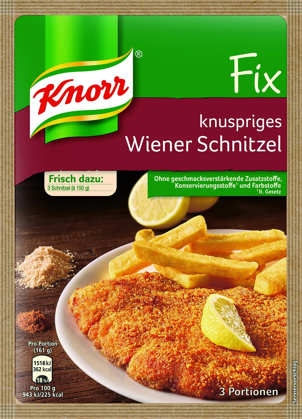 Fix fuer Wiener Schnitzel