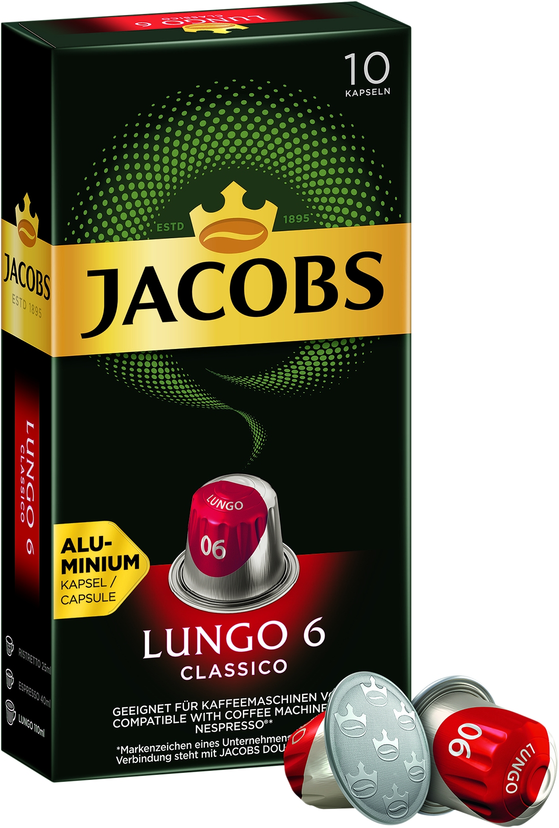 Lungo Classico 6 (Nespresso) 10 St.