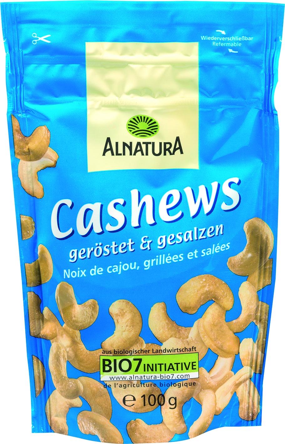 Cashewkerne geröstet und gesalzen