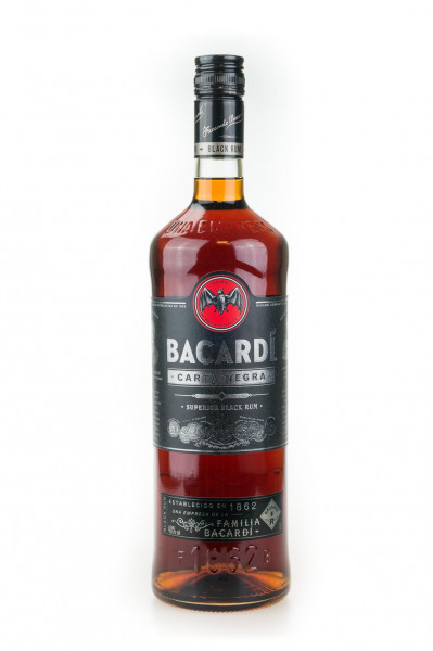 Bacardi Rum Carta Negra (Black)