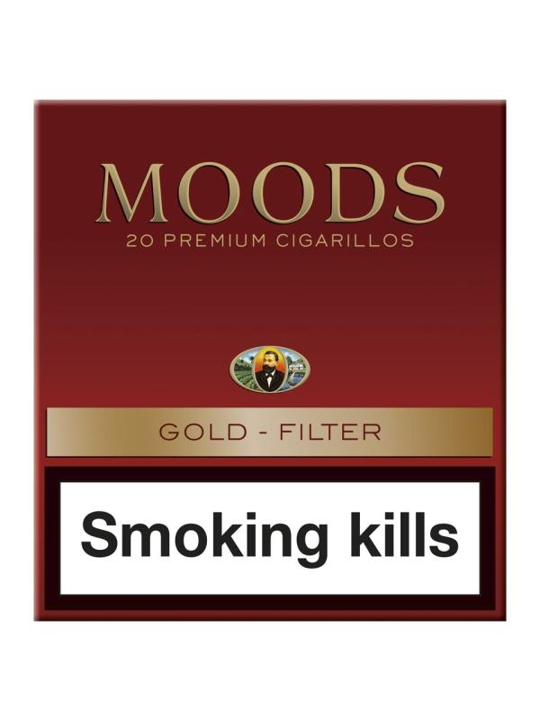 Moods Gold Filter 5x20St., Cigarillos