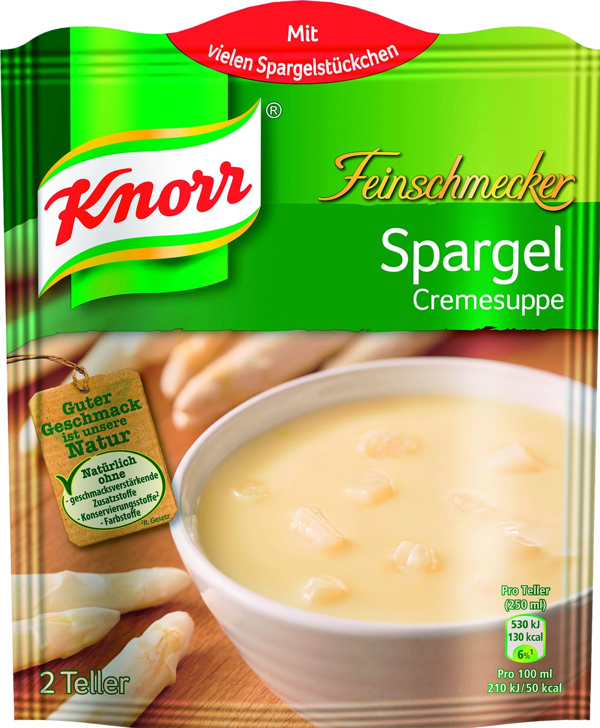 Fix Spargelcreme Suppe