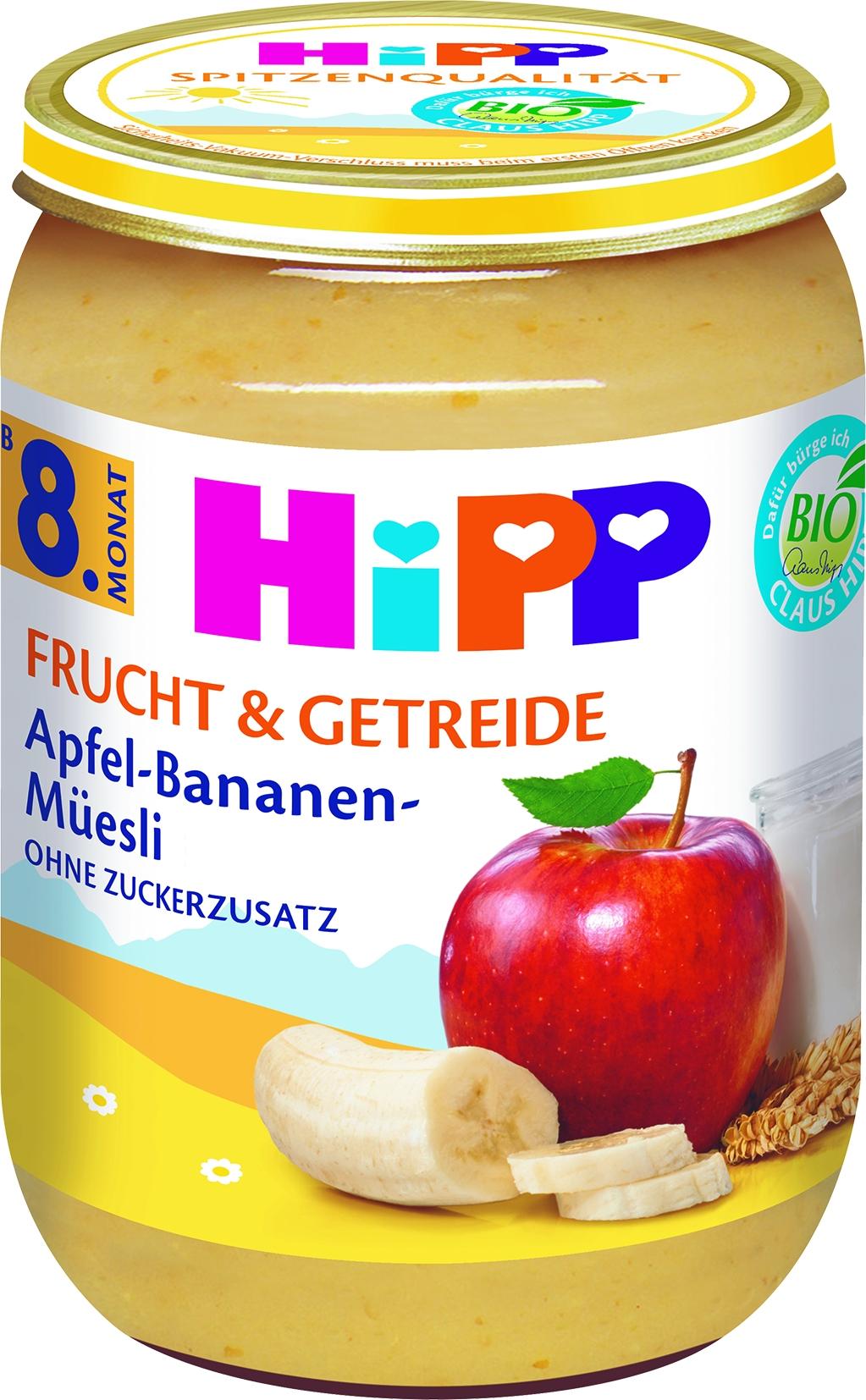 Bio 4860-01 F&G Apfel-Bananen-Muesli