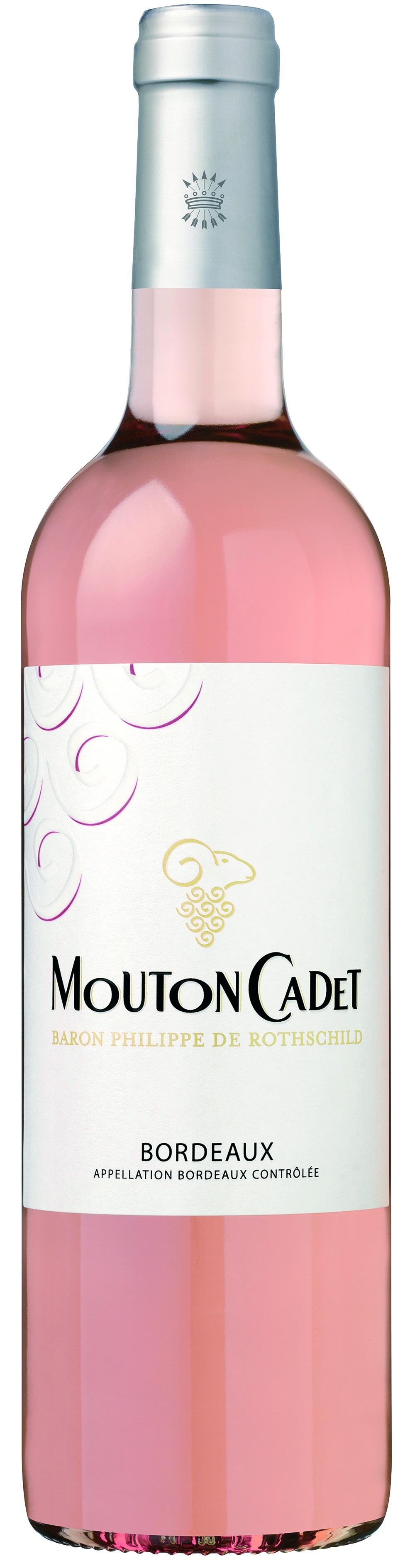 Baron Philippe de Rothschild, Mouton Cadet, Bordeaux, AOC, trocken, rose