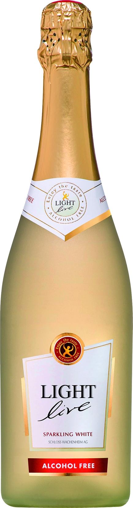 Light Live Sekt Weiss Alkoholfrei