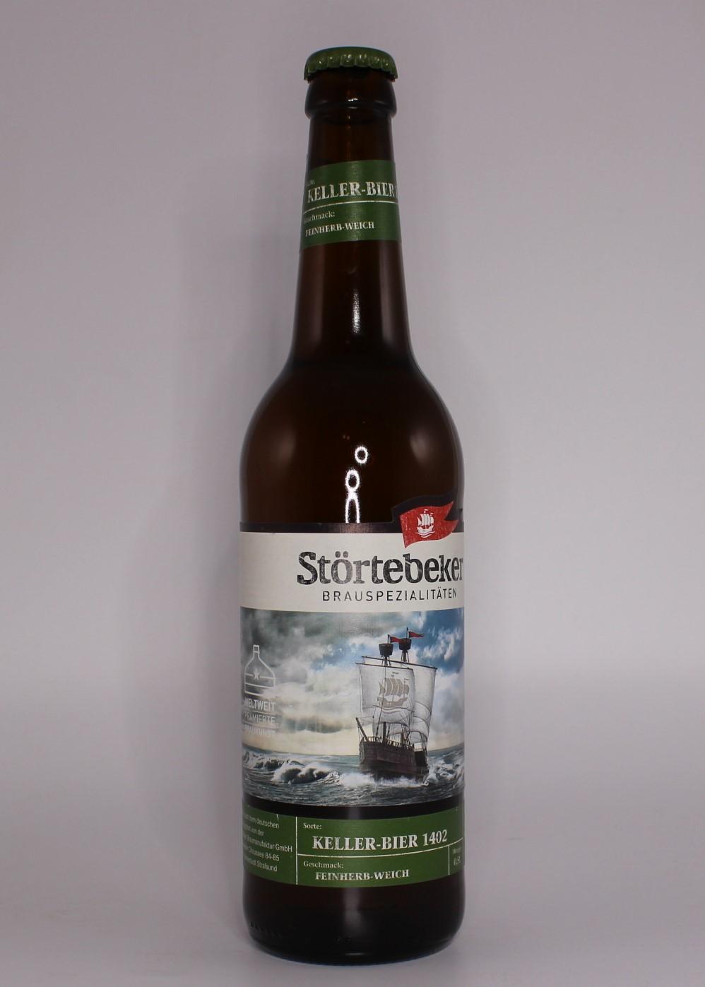 Stoertebeker Keller Bier 1402 20Flx0,5l