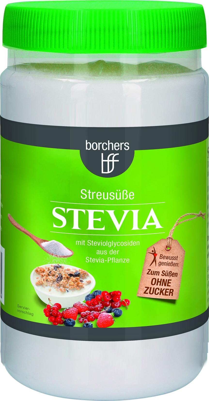 """Stevia"" Streusüße Verkauf nur im Karton 6 x 75gr"