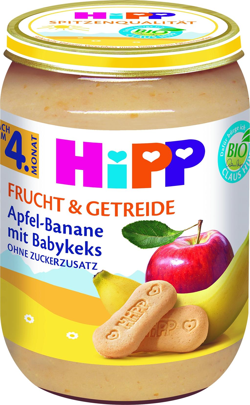 Bio 4710-01 F&G Apfel/Banane/Keks