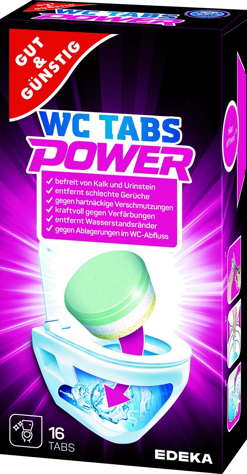 WC Reiniger Tabs 16x25g