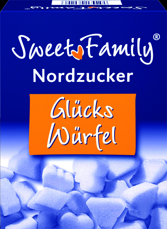Glueckswuerfel Zucker