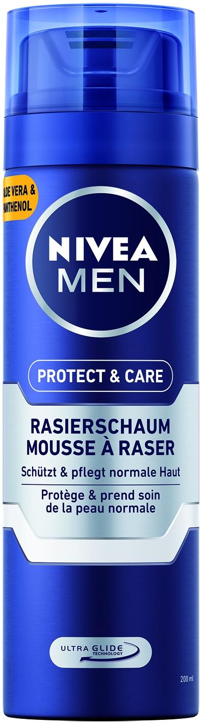 For men Rasierschaum Protect + Care