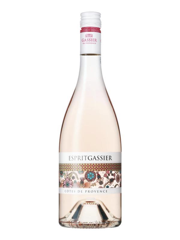 Gassier, Esprit, Côtes de Provence, AOC, trocken, rosé (Drehverschluss)