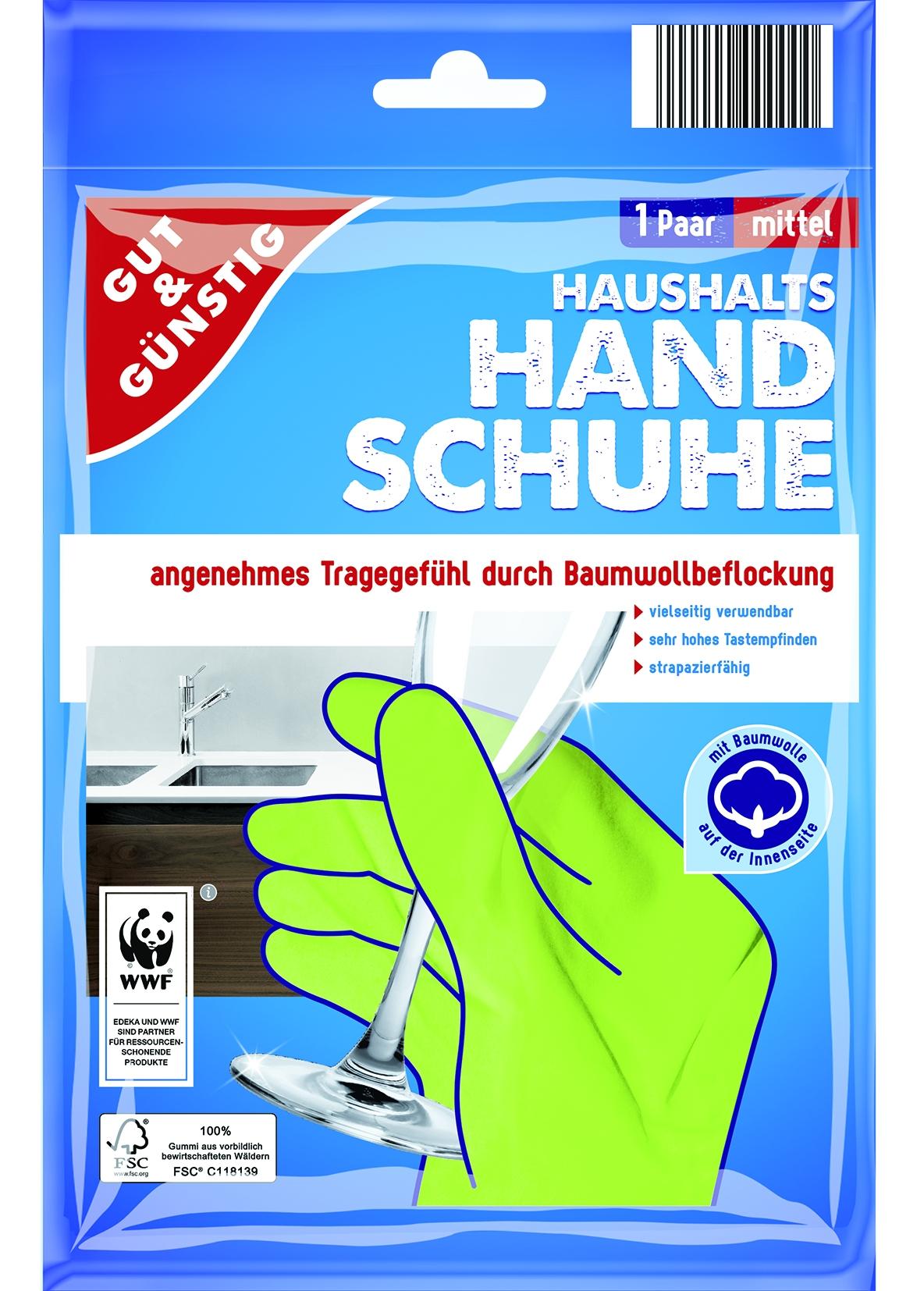 Der Handschuh mittel 1Paar