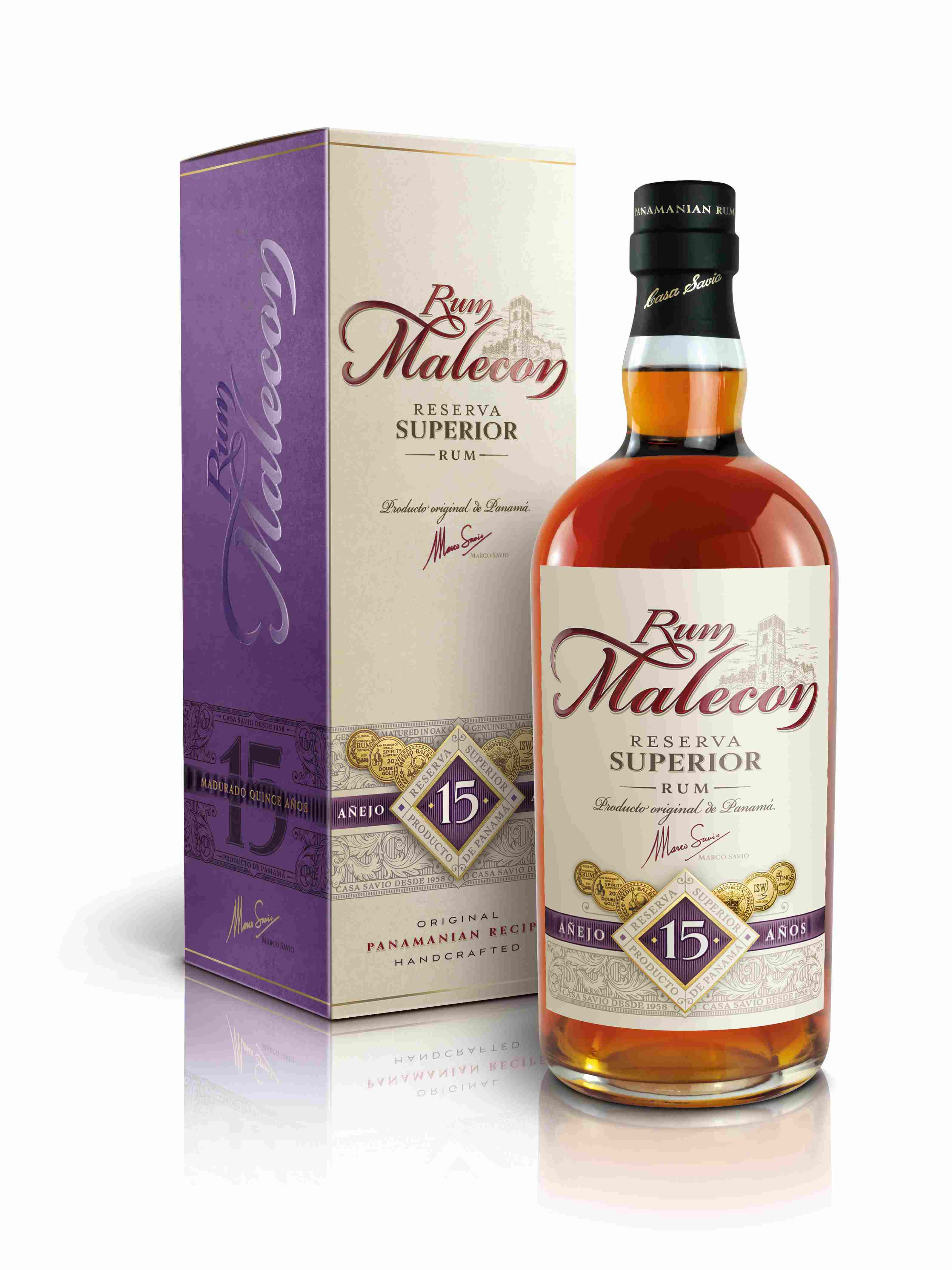 Malecon 15 Years Old Reserva Superior