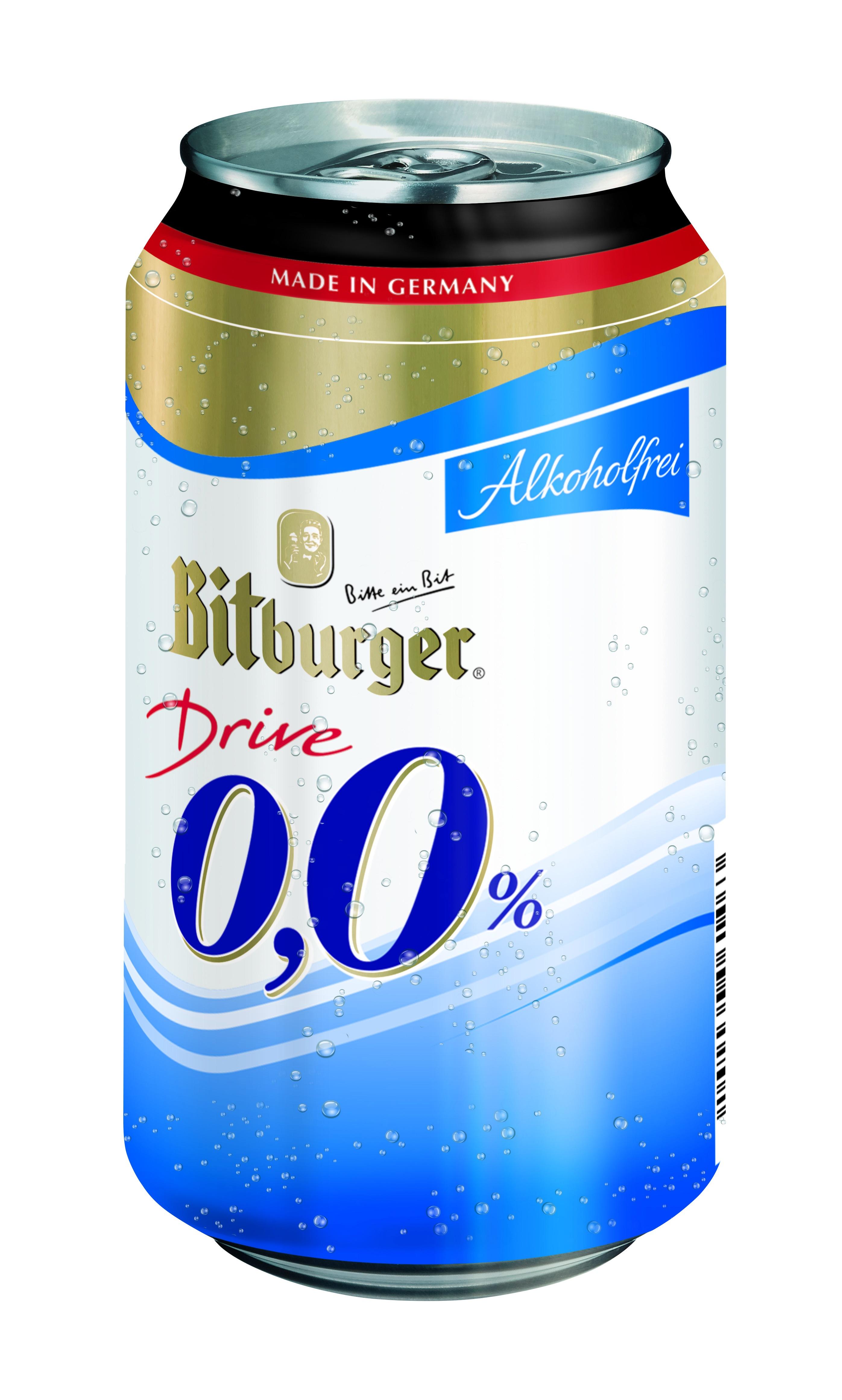 Bitburger Drive alkoholfrei 24Dsx0,33lt
