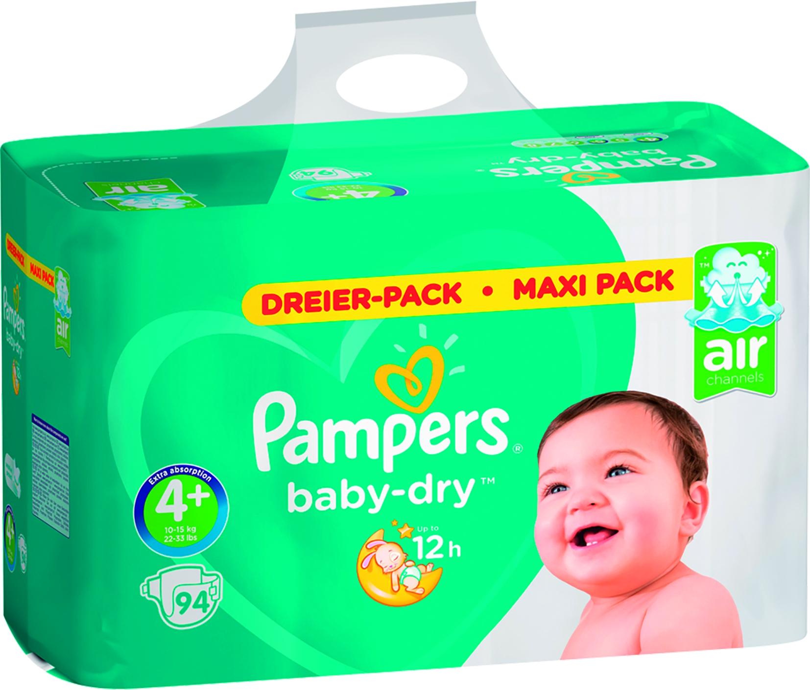 Jumbo Baby Dry Maxi Plus 4+ 94er