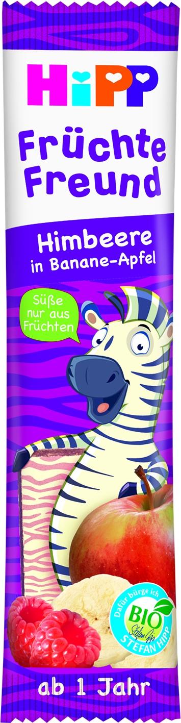 DA31362 Früchte Freund Zebra Himbeer/Banane/Apfel