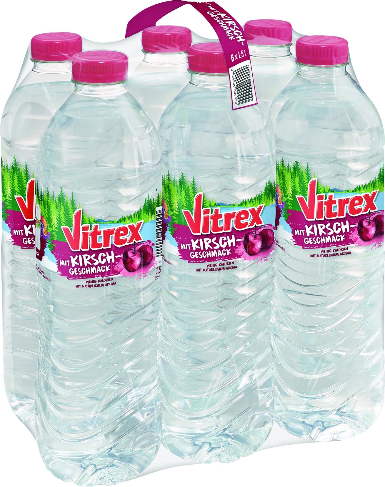 Mineralwasser mit Kirsche