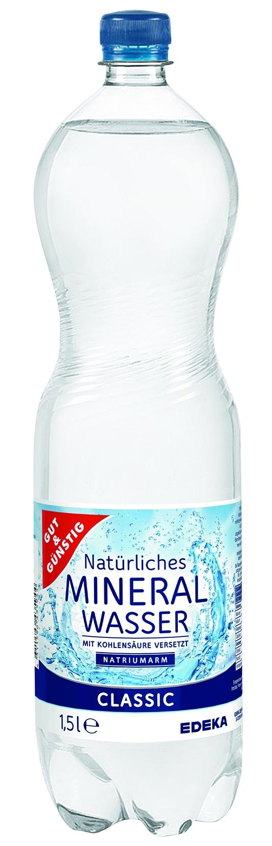 Mineralwasser classic PET