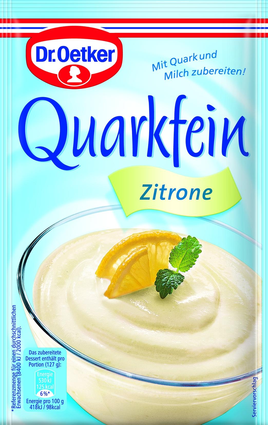 Quarkfein Zitrone
